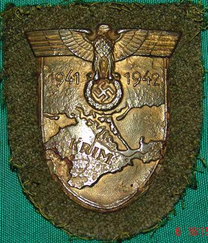 4a. Krim Shield. $150.00